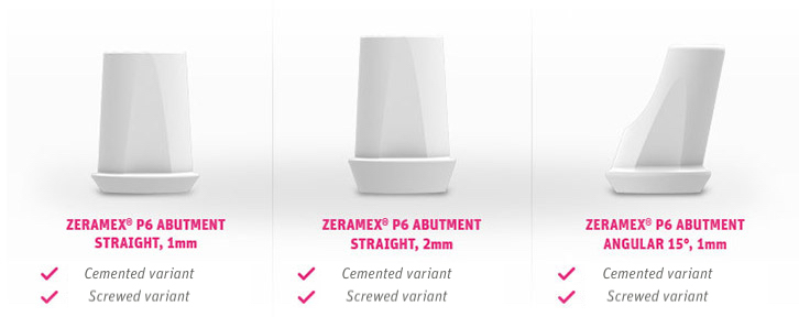 Zeramex 174 P6 Implants Simple And Efficient Processes
